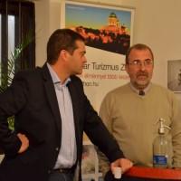 Sztojanovits Kristóf (MT Zrt.) Kiss Imre igazgatóval beszélget
